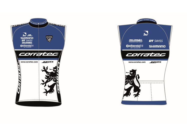 Corratec World Team Line Wind Weste