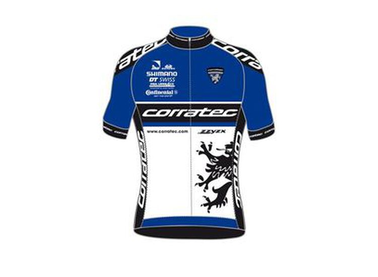 Corratec Wolrd Team Line Short Sleeves Jersey