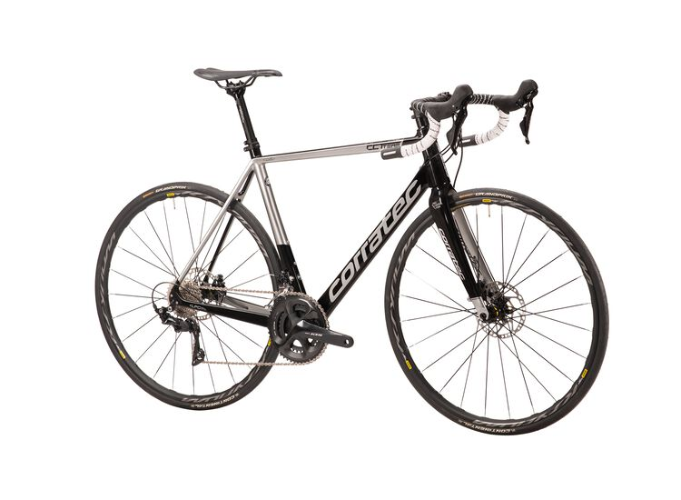 Corratec CCT Team PRO DISC 2020 49 black/silver