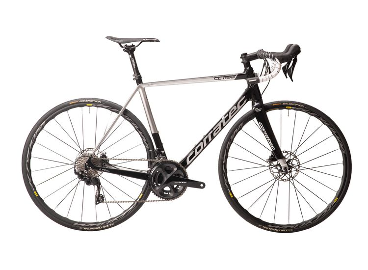Corratec CCT Team PRO DISC 2020 55 black/silver